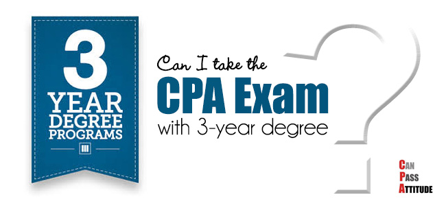 cpa with 3 year degree