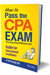 how to pass the cpa exam book