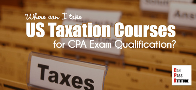 US federal taxation course online for CPA
