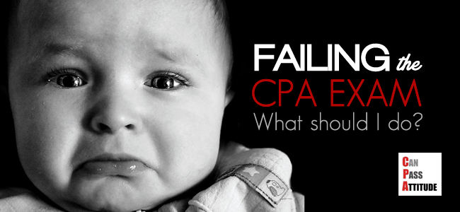 Fail CPA Exam? My 3 Advice to Retakers