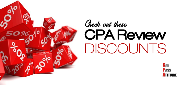 cpa review discounts