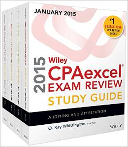2015 Becker CPA Review w/flashcards and final review