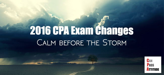 2016 CPA exam changes