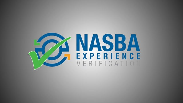 NASBA Experience Verification Service: How does it Work?