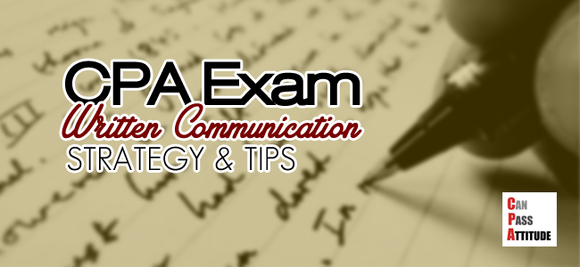 cpa exam written communication tips