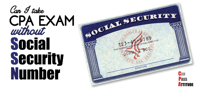 CPA without Social Security Number ssn