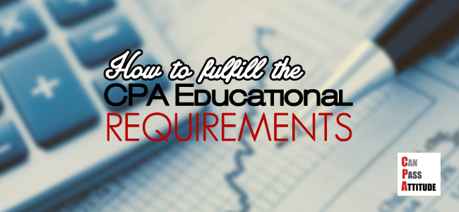 cpa educational requirements
