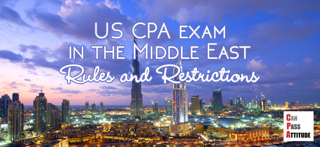 US cpa exam in Middle East