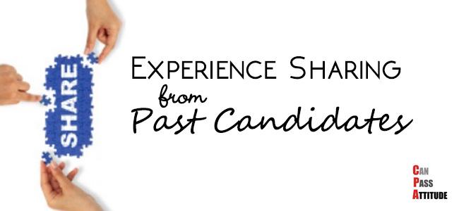 cpa exam experience sharing