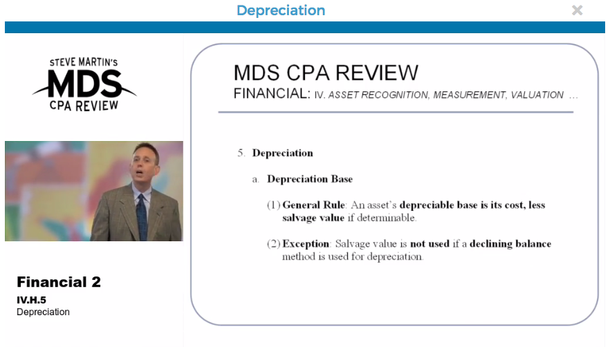 MDS CPA Review: Learn About the MDS