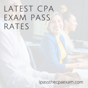 latest cpa exam pass rates