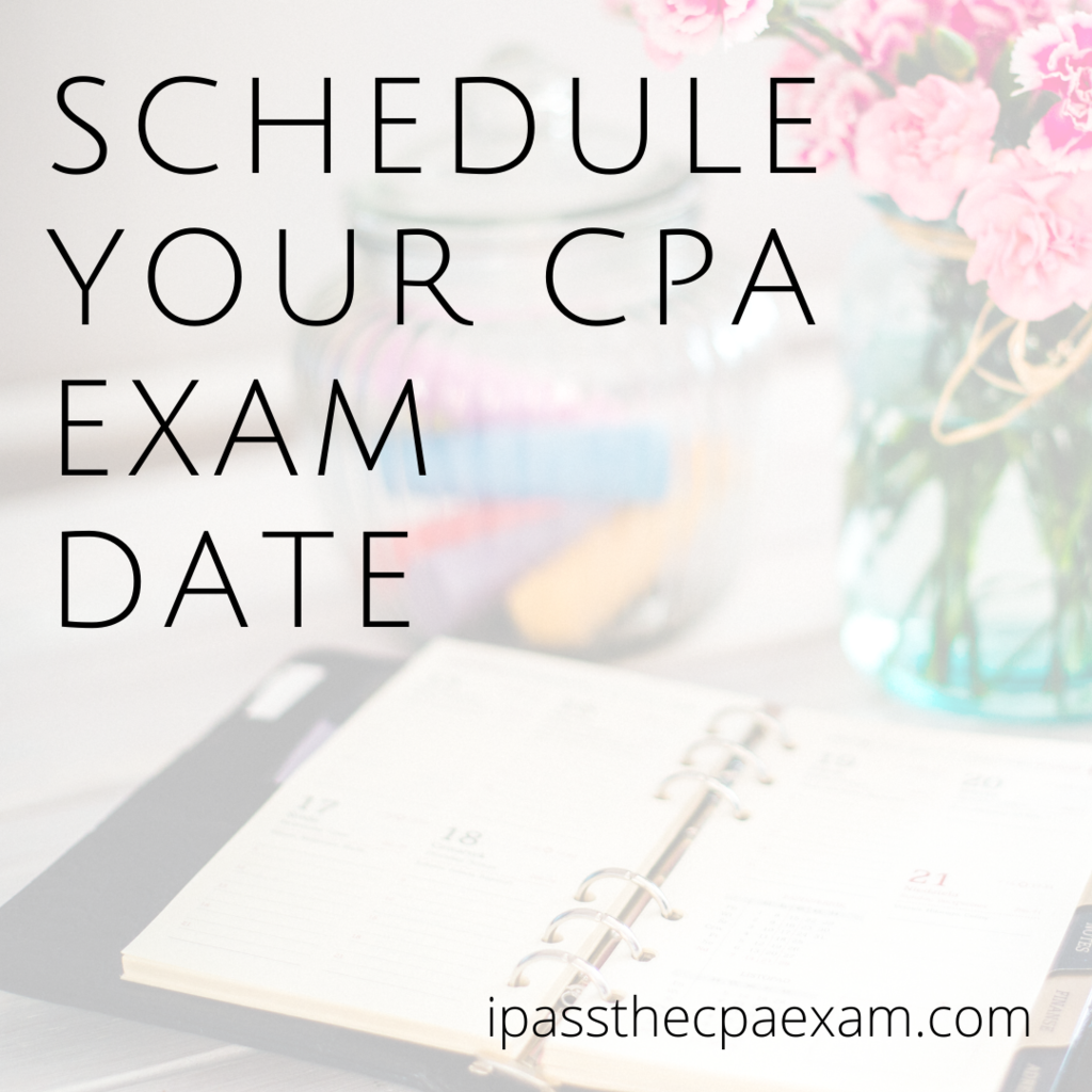 schedule cpa exam date
