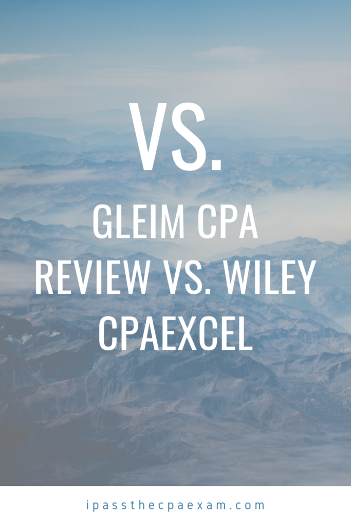 gleim cpa vs wiley cpaexcel