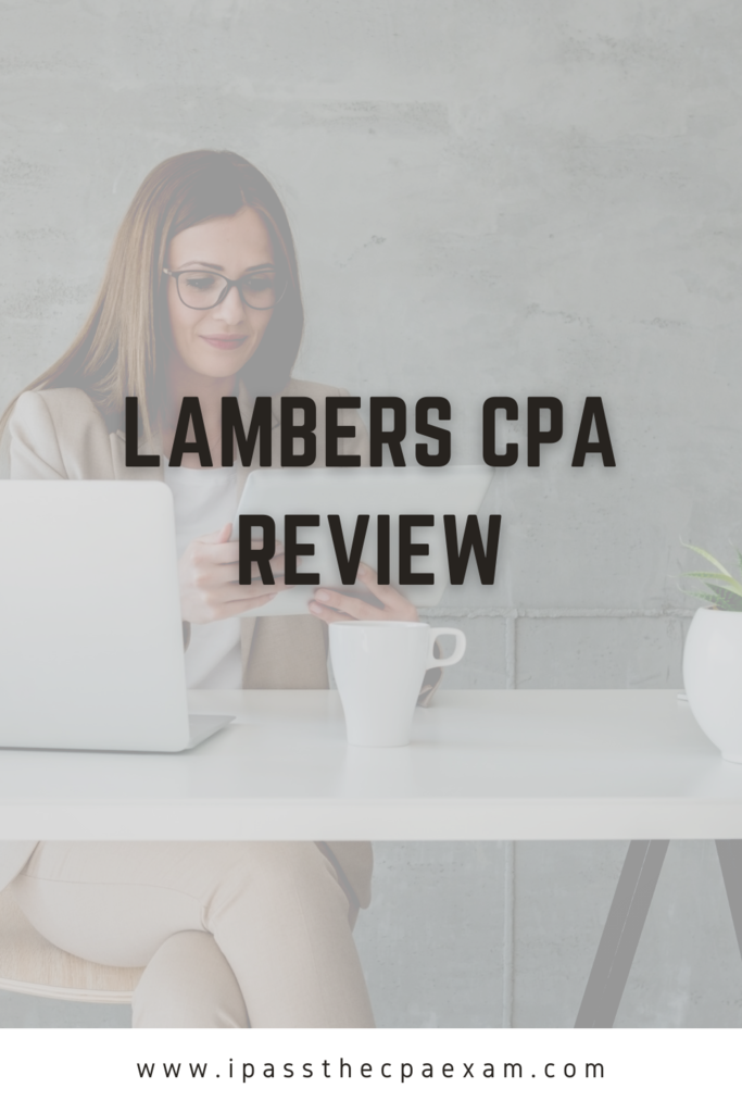 cheap cpa review lambers