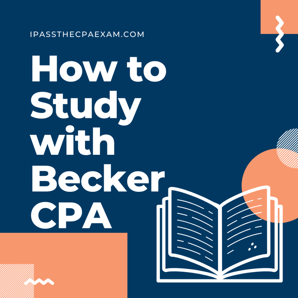 how to study with becker cpa